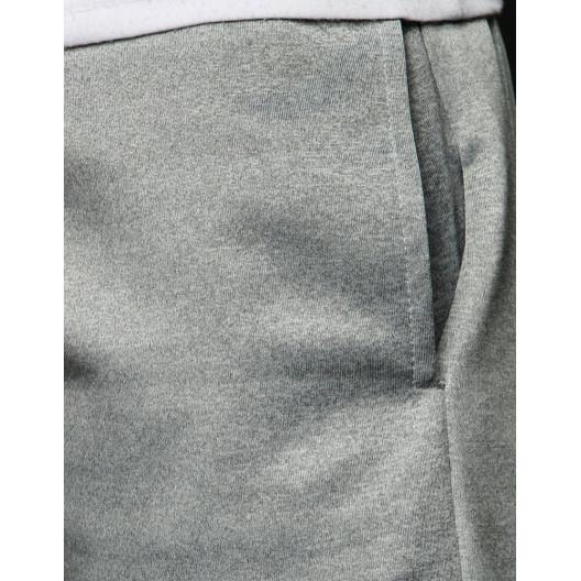 Pohodlné sivé pánske tepláky