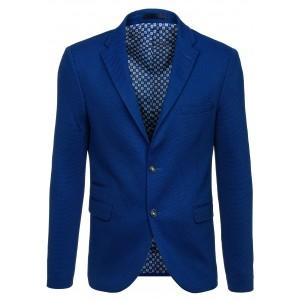 Pánske formálne saká modrej farby