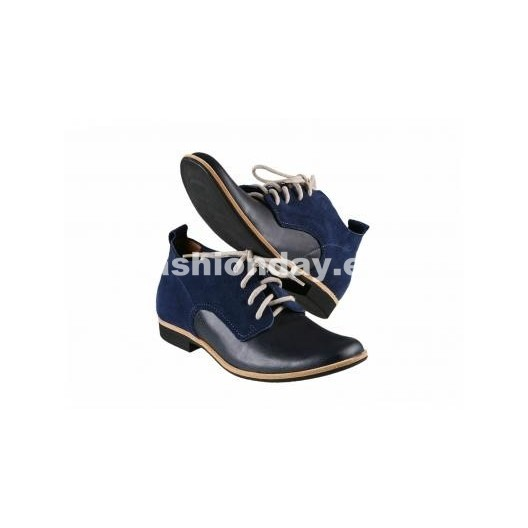 Pánske topánky - modro-čierné