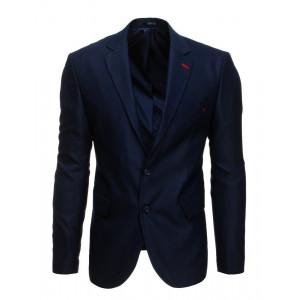 Formálne pánske modré sako navy blue