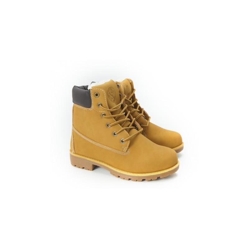9f2bd91b13ee Dámske zateplené zimné topánky béžovej farby - fashionday.eu