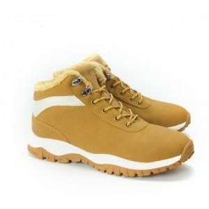 Pánske béžové zateplené topánky