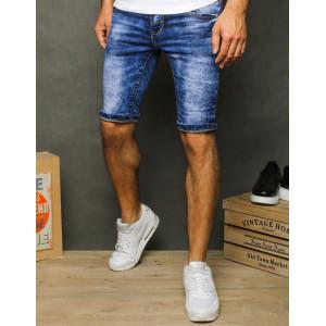 Pánske štýlové pohodlné džínsové kraťasy