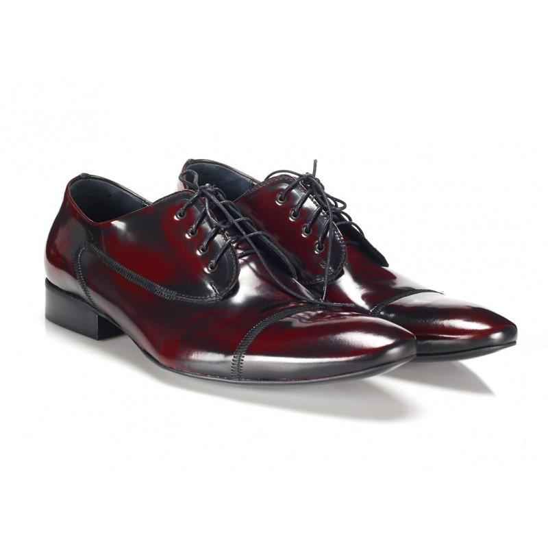 2c9953971ed62 Pánska kožená spoločenská obuv COMODO E SANO - fashionday.eu