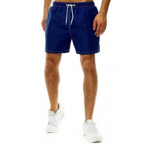 Trendové plavky pre pánov v modrej farbe