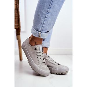 Sivá dámska športová obuv BIG STAR
