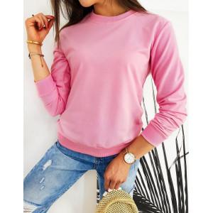 Ružová dámska mikina CARDIO bez kapucne