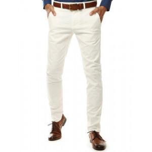 Pánske biele nohavice
