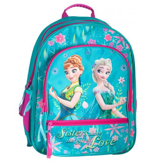 Krásna trojčasťová školská taška FROZEN