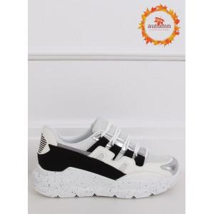Štýlová športová obuv na vysokej podrážke