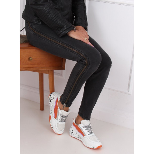 Dámska športová obuv s vysokou podrážkou