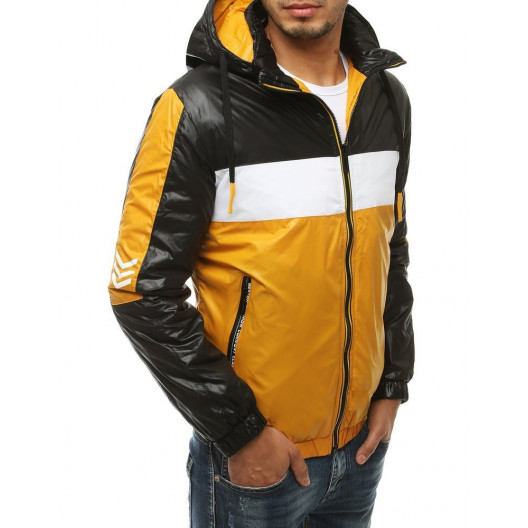 Trendová prechodná bunda s kapucňou pre pánov
