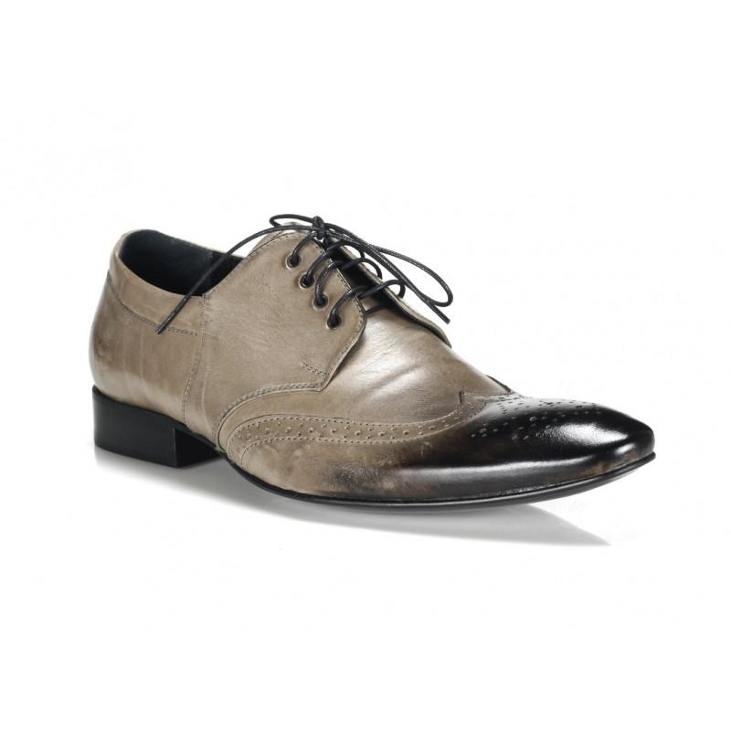 5be2efc36e482 Pánska kožená spoločenská obuv Comodo E Sano - fashionday.eu