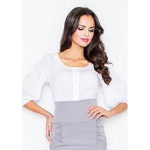 Dámska biela košeľa