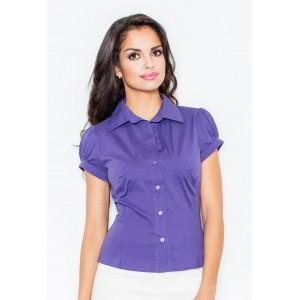 Dámska košeľa fialovej farby