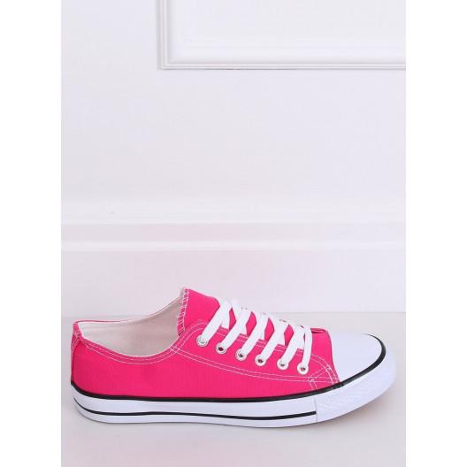 Pohodlné dámske tenisky ružovej farby