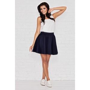 Dámska spoločenská sukňa čiernej farby