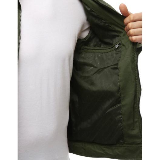 Pánska prechodná bunda ARMY zelená