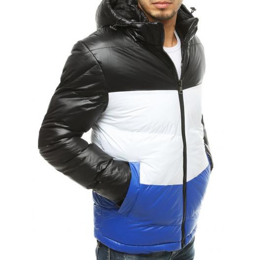 Nýlonová zimná bunda s odnímateľnou kapucňou