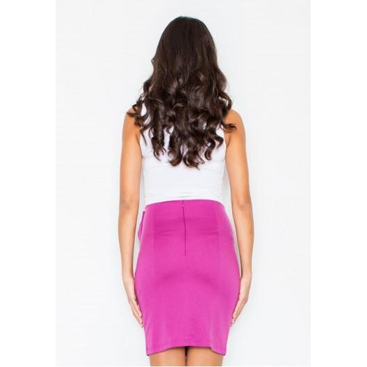 Tmavo ružová dámska spoločenská sukňa
