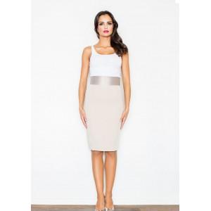Dámska sukňa béžovej farby na rôzne príležitosti