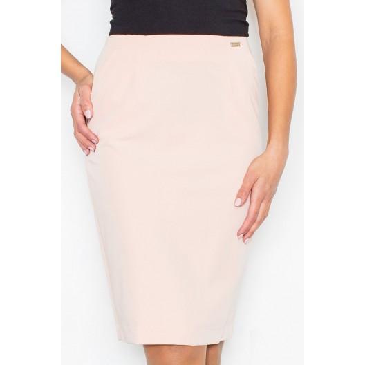 Dámska spoločenská sukňa ružovej farby