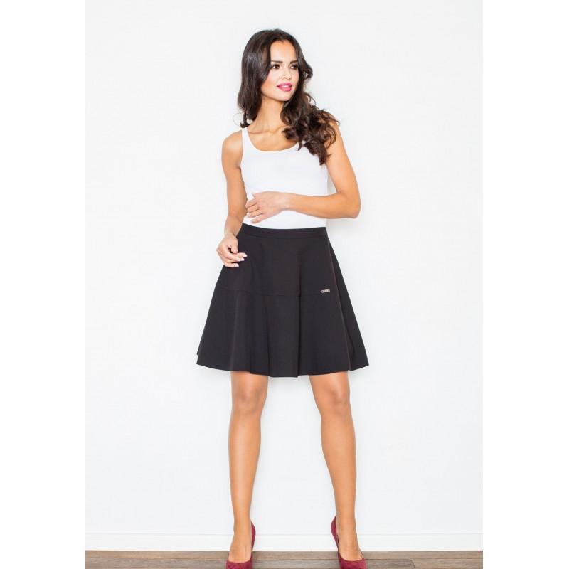 454c41b54f9d Štýlová dámska sukňa v čiernej farbe - fashionday.eu