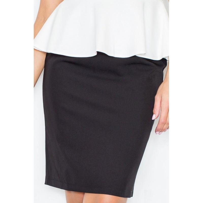 9047f0d2907c Elegantná dámska čierna sukňa - fashionday.eu