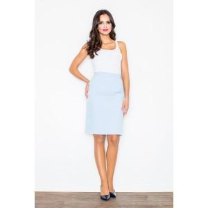 Bledo modré spoločenské sukne pre dámy