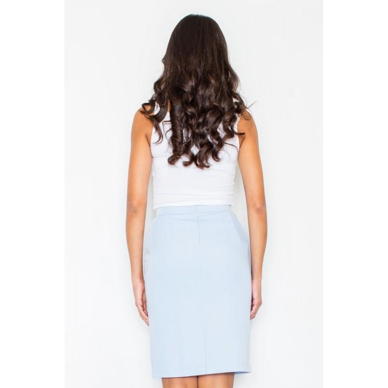260cb2eb06e3 Bledo modré spoločenské sukne pre dámy  Bledo modré spoločenské ...