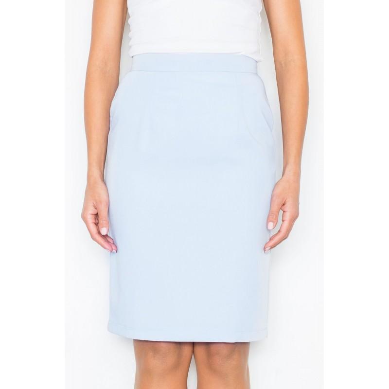 2326d1539855 Bledo modré spoločenské sukne pre dámy - fashionday.eu
