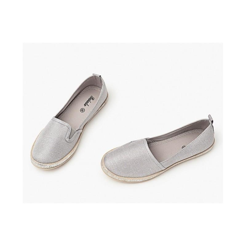 b2d484939620 Športové dámske baleríny sivej farby - fashionday.eu