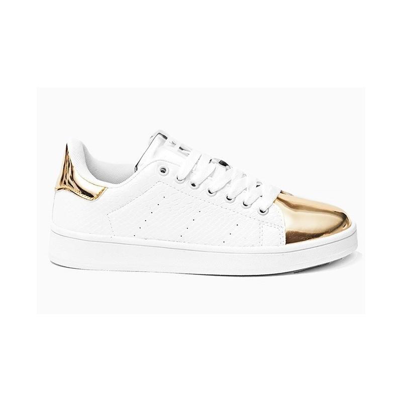 Predchádzajúci. Originálne dámske tenisky bielej farby v kombinácii so  zlatou ... ae15c0c3710