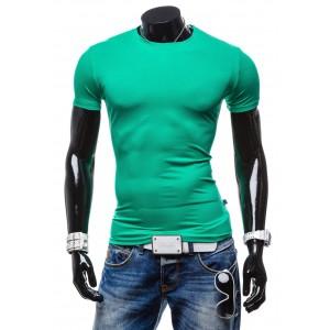 Tričko s krátkym rukávom zelenej  farby