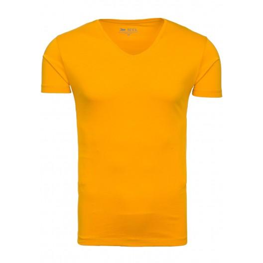 Horčivovo žlté pánske tričko