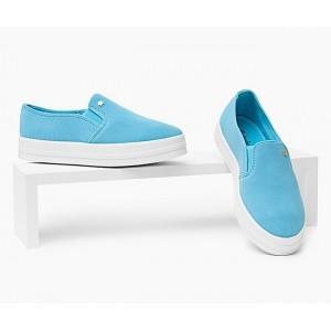 Tyrkysové topánky na voľný čas