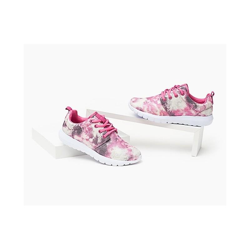 3370a6270dd12 Módne dámske tenisky ružovo sivej farby - fashionday.eu