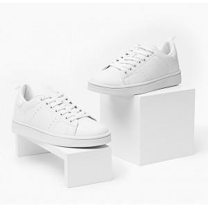 Biela dámska športová obuv