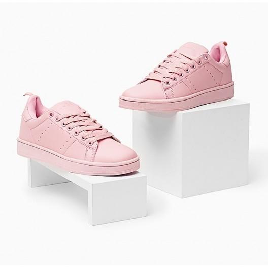 Športová obuv dámska ružovej farby