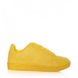 Tenisky dámske v žltej farbe
