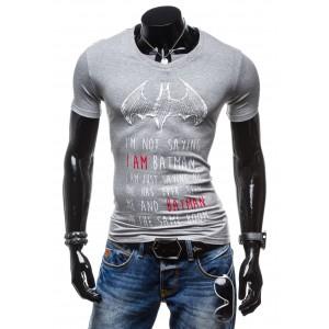 Tričko pre pánov sivej farby
