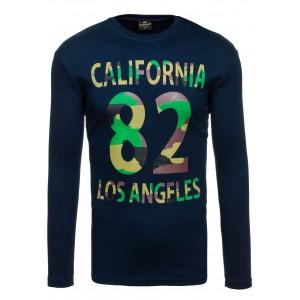 California pánsky nátelník tmavomodrej farby