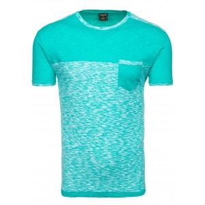 Pánske tričko výrazne zelenej farby