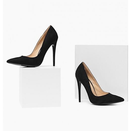 Elegantné dámske lodičky čiernej farby