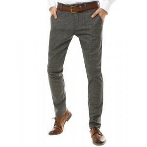 Pánske elegantné sivé  Chinos nohavice