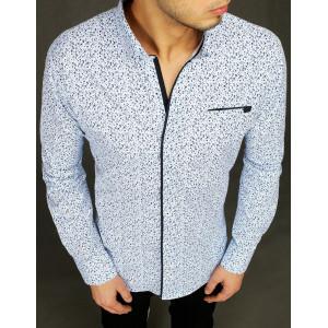 Krásna pánska spoločenská košeľa so zaujimavým vzorom