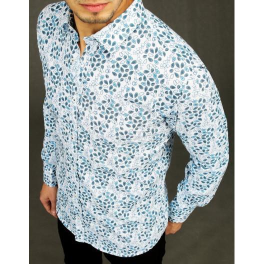 Pánska Slim fit  štýlová  košeľa s dĺhym rukávom