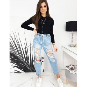 Kvalitný dámsky čierny sveter s výstrihom do V