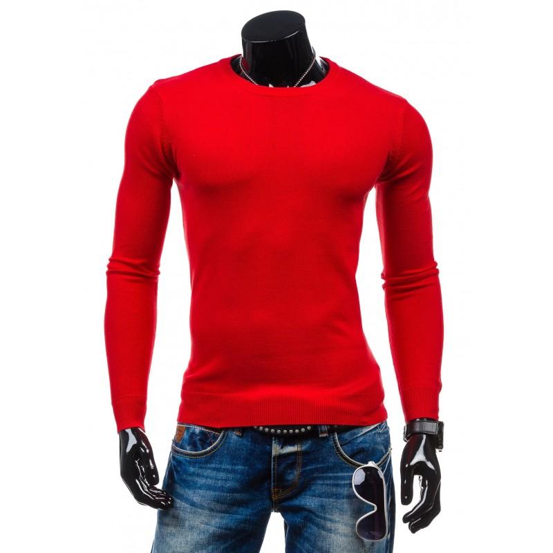 addfa5fd415d Červený pánsky sveter - fashionday.eu