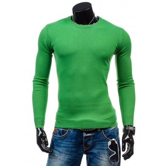 Sveter pre pánov zelenej farby